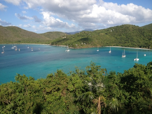 St. Francis Bay and Maho Bay again.